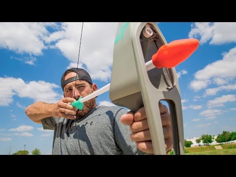 Thumbnail: Nerf Bow Trick Shots | Dude Perfect