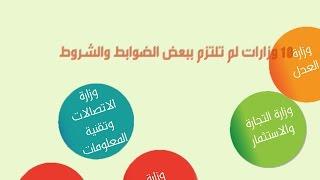10 وزارات تخالف الأنظمة في توظيف ابن الوزير وآخرين