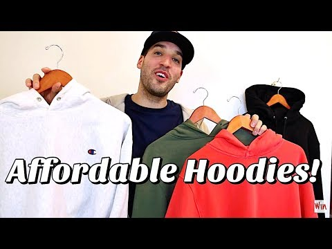 TOP 5 AFFORDABLE HOODIES FOR THE FALL!