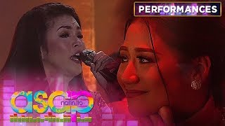 "Regine and Bituin's ""Kung Ako Na Lang Sana"" performance that made Morissette Cry 