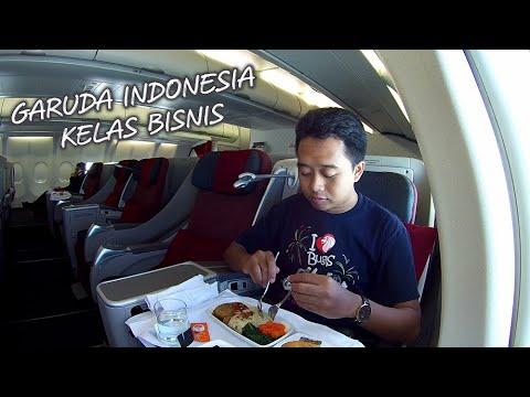 Business Class Garuda Indonesia Pengalaman Ternyaman Naik Pesawat D Trip A330 Ga 318 Cgk Sub Youtube