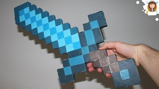Minecraft - Diamond Paper Sword