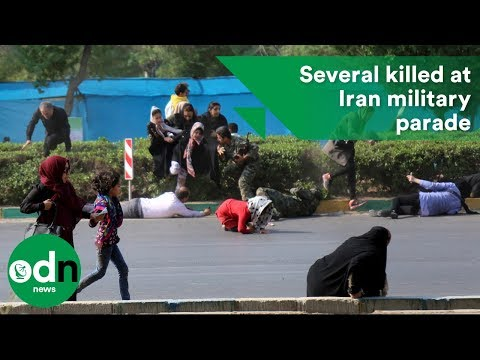 Several killed at Iran military parade