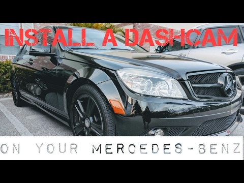 Install a Dash Cam on Your Mercedes-Benz - YouTube