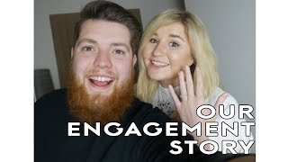 OUR ENGAGEMENT STORY! | Little Kelly