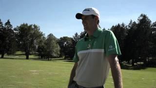 Justin Rose Testing TaylorMade RocketBladez Irons (Dunham's Sports)