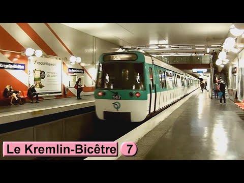 Métro de Paris : Le Kremlin-Bicêtre | Ligne 7 ( RATP MF77 )