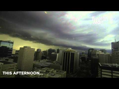 Brisbane Weather - Sun, Rain, Hail, Lightning, What Next?!
