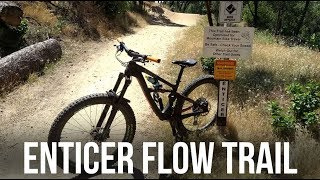 Enticer - New Flow Trail in Redding California - Dusty Betty Women's Mountain Biking