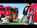 GTA 5 FIRETRUCK DEMO DERBY!!! (GTA 5 Funny Moments & FAILS)
