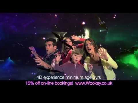 NEW Wookey Hole 4D Experience