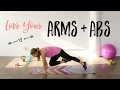 Love Your Arms & Abs | Upper Body Workout ♥︎