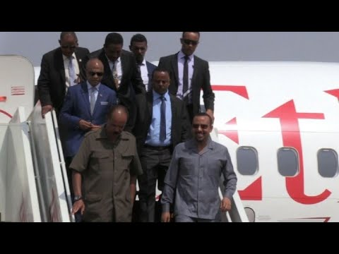 SSudan: Eritrean president and Ethiopian PM arrive to Juba