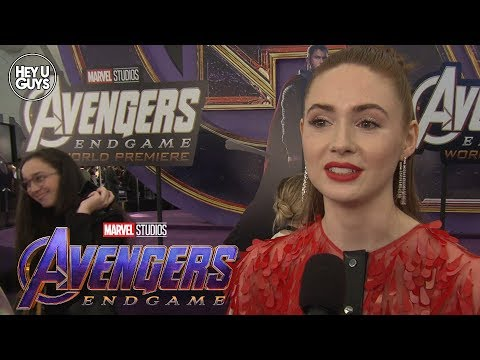 Avengers: Endgame World Premiere - Karen Gillan Interview