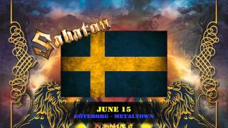 SABATON - Tour Trailer - Carolus Rex (Swedish Version)