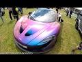 INSANE Supercar Park! - P1, Aventador SV, Miura, 599 GTO & More