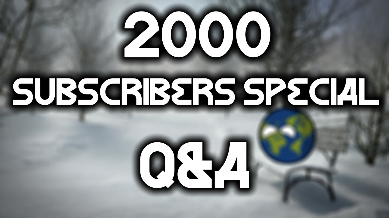 2000 subscribers special thank you all 8
