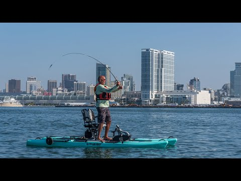 Kayak Fishing My Home Waters In San Diego, California