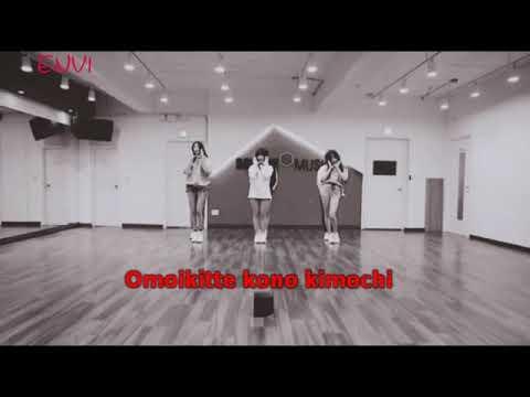 [KARAOKE] Time For The Moon Night (Japanese Version) - GFriend