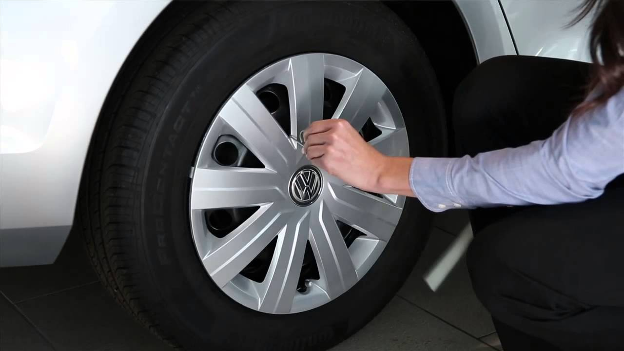 Volkswagen How-To | Removing Wheel Bolt Caps & Wheel Covers - YouTube