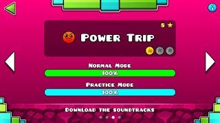 Geometry Dash Subzero (Level 3) - Power Trip