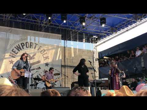 'Go' - Amy Ray, Brandi Carlile and Lucy Dacus help close out Saturday at Newport Folk Fest 2019