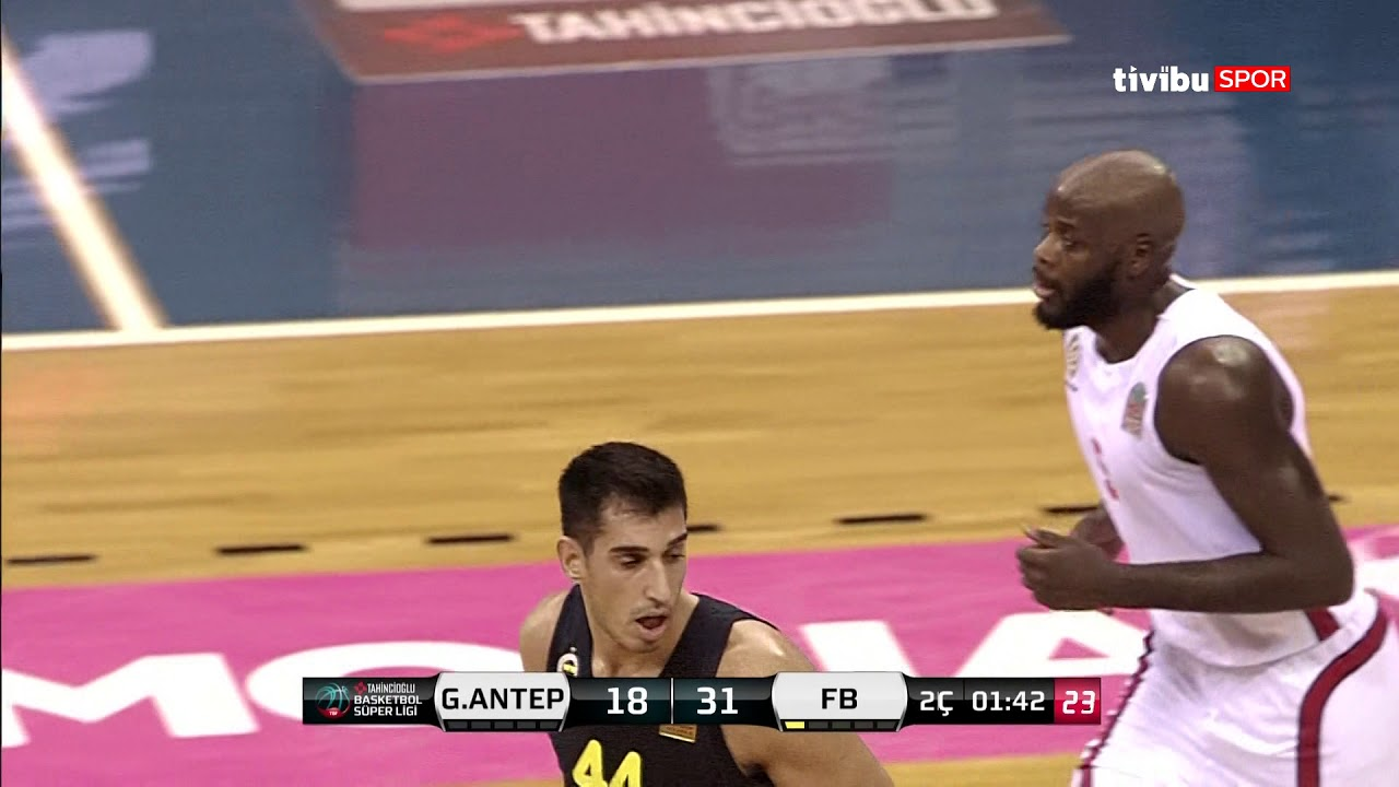 Maç Özeti: Gaziantep Basketbol - Fenerbahçe