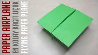 En Kolay Uçan Kağıt Uçak Yapımı-Kağıt Uçak-Origami Uçak-Bölüm 218