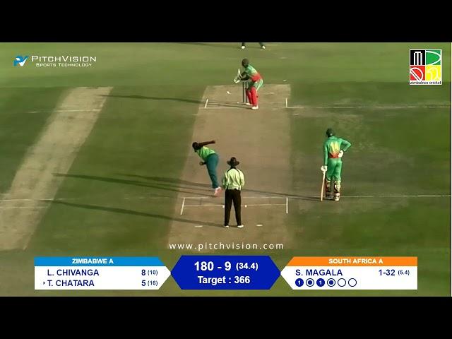 Zimbabwe A vs South Africa A | 2nd One Day