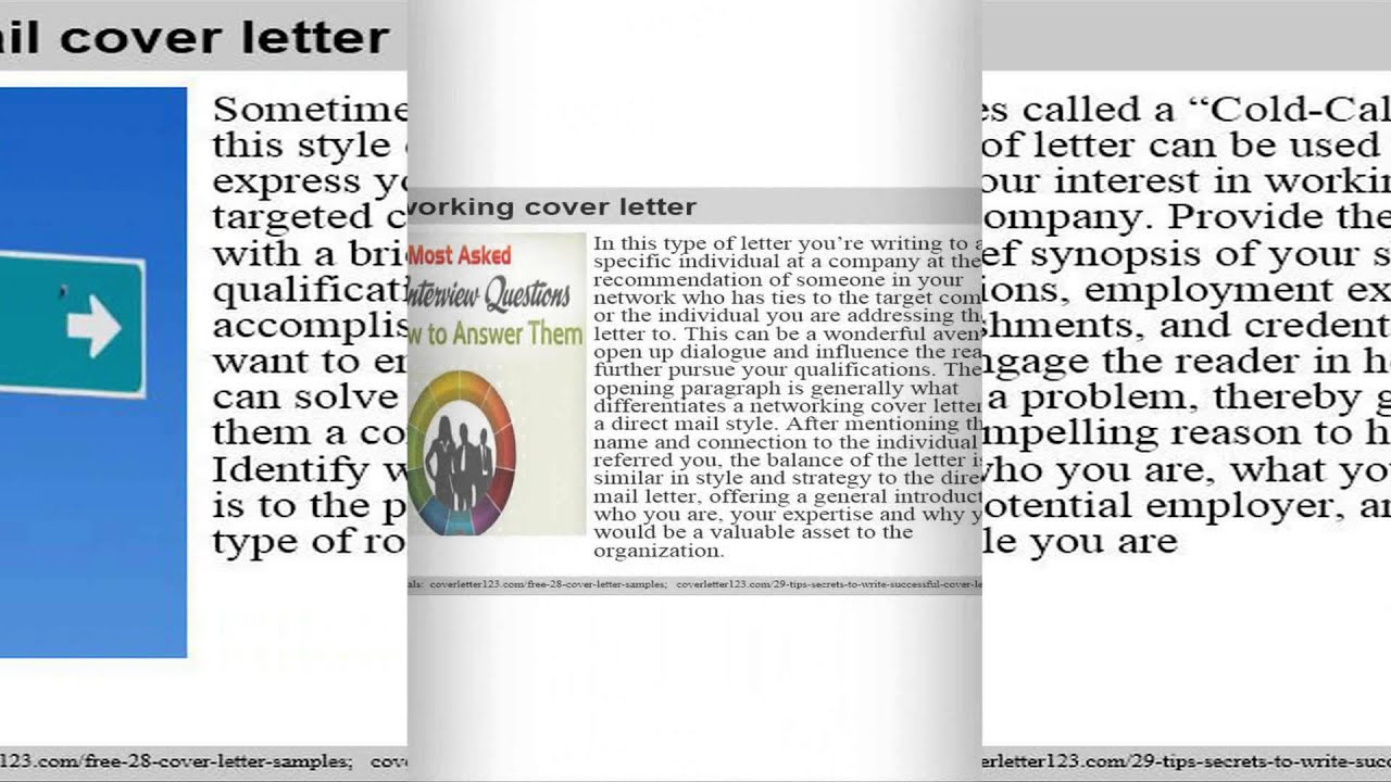 Top 7 chief marketing officer cover letter samples - YouTube