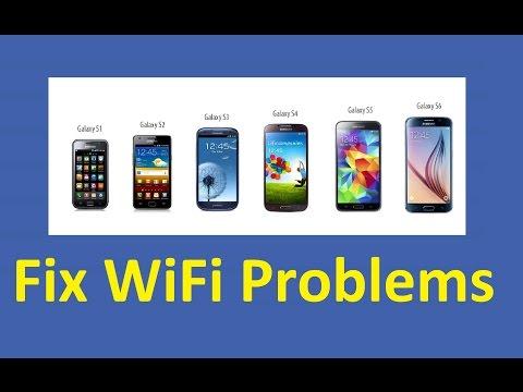 Fix Samsung Galaxy WiFi Problems!!! - Howtosolveit