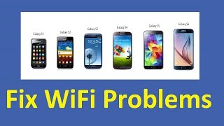 Fix Samsung Galaxy WiFi problems!!! - Howtosolveit