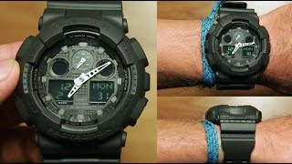 Casio G-shock GA-100MB-1A *BLACK EDITION