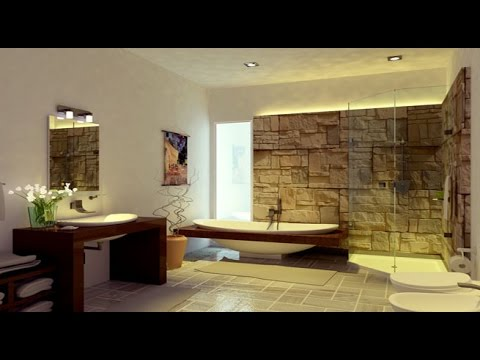 Ideas para decorar tu casa decoracion interior con piedra natural youtube - Decoracion de entradas de casas ...