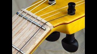 Zero fret enhances easy playing + even tone all notes/A new definition flamenco guitar instru 6/Diaz