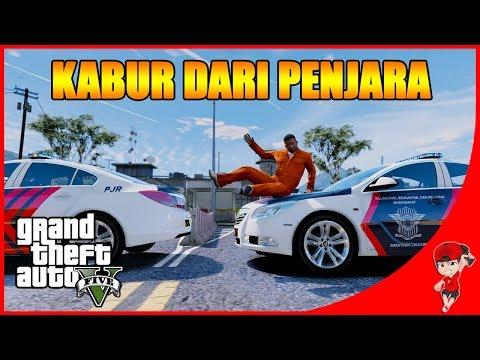 GTA V MOD INDONESIA (27) - KABUR DARI PENJARA