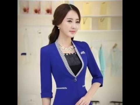 Mẫu Áo Vest Nữ Hàn Quốc Dành Cho Công Sở
