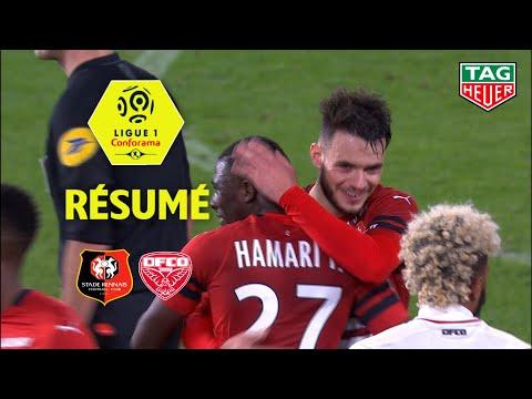 Stade Rennais FC - Dijon FCO ( 2-0 ) - Résumé - (SRFC - DFCO) / 2018-19