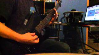 Parkway Drive - Unrest (guitar cover)