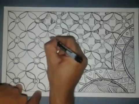 Cara Membuat Batik Pola Sederhana Mudah Walaupun Buru Buru Youtube