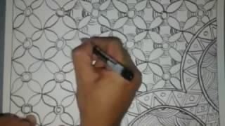 Cara Membuat Batik Pola Sederhana Mudah Walaupun Buru-buru
