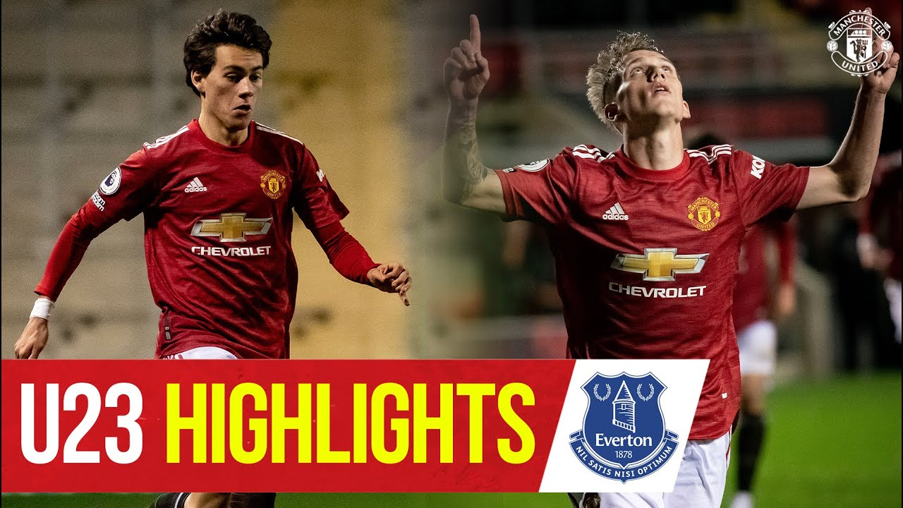 U23 Highlights | Manchester United 2-1 Everton | The Academy