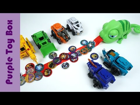 Thumbnail: Chameleon And Dinosaur Catching Coin Toys