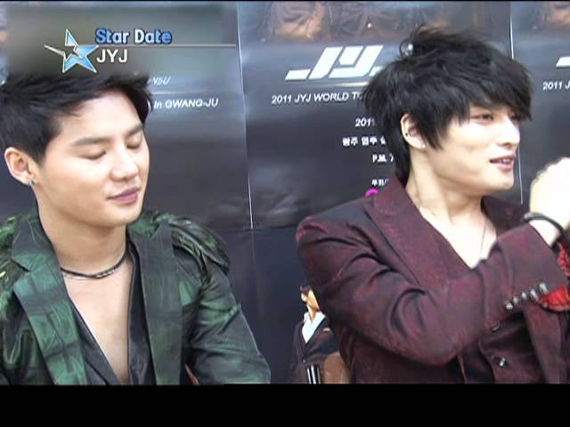 [Star Date] JYJ at Gwangju concert