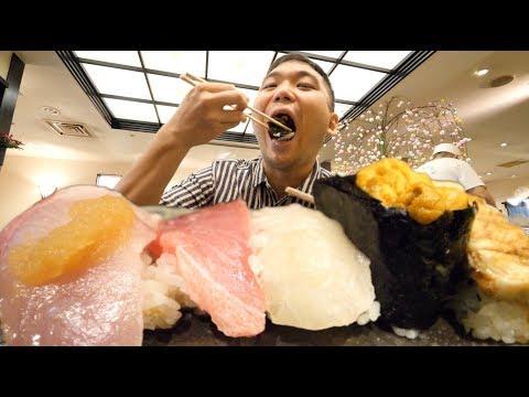 【大阪】外国人に人気の『ゑんどう寿司』をタベル!京橋の下町散策&激安うどんも【グルメ】