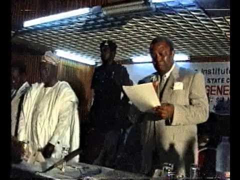NIGERIA INSTITUTE OF PUBIIC REATIONS LAGOS STATE CHAPTER   1992 ANNUAL GENERAL MEETING  A