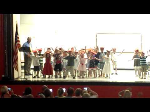 Kindergarten dance off at Colon Elementary School