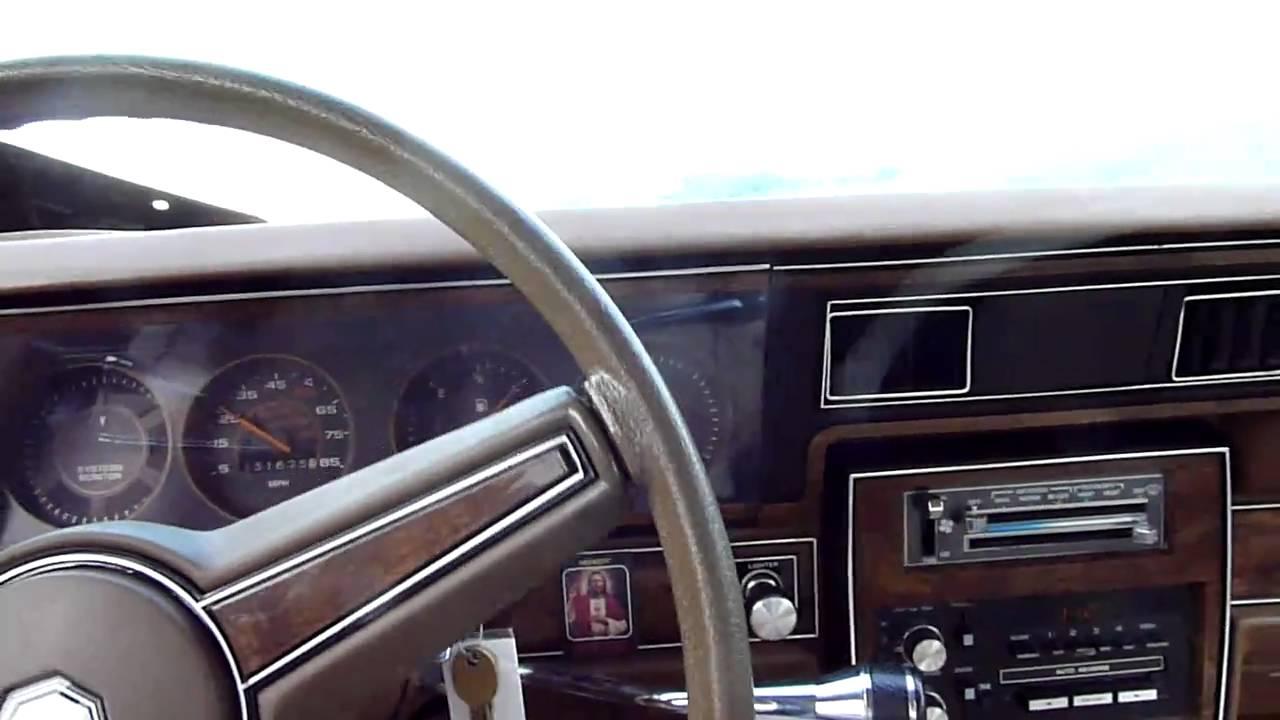 1985 Pontiac Parisienne test drive - YouTube