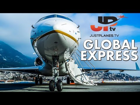 Flying the BOMBARDIER GLOBAL EXPRESS (by JPTV)