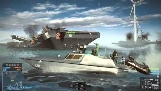 Battlefield 4 - Paracel Storm Attack Boat + TV Missile Gameplay | 58-4 |